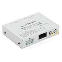 MOST видеоинтерфейс для Audi MMI 3G+ с адаптером разблокировки видео в движении - Короткий опис