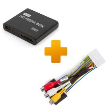 Multimedia Full HD Player and Connection Cable Kit for Toyota Citroen Peugeot X Touch X Nav Monitors - Short description