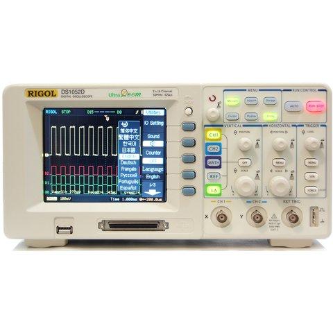 Цифровой осциллограф смешанных сигналов RIGOL DS1052D