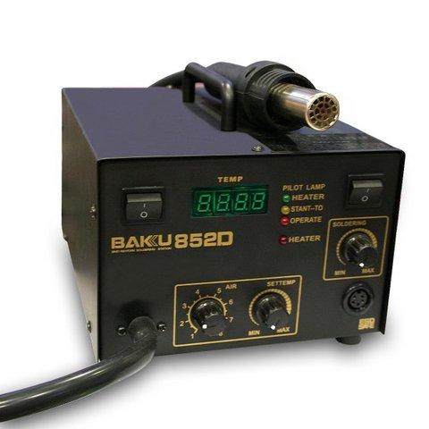Термоповітряна паяльна станція BAKU BK 852D