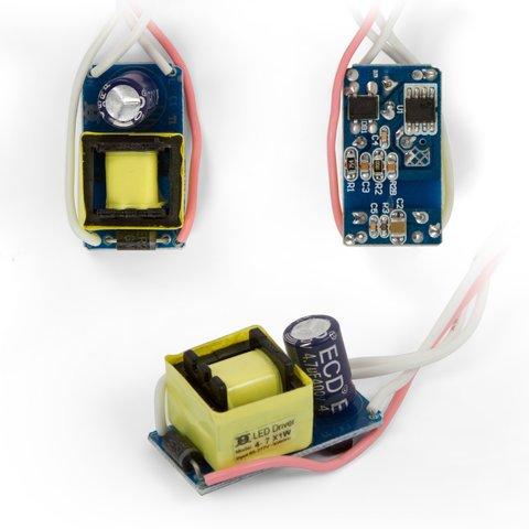 Драйвер світлодіодної лампи 4 7 Вт 85 265 В, 50 60 Гц