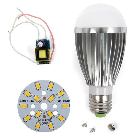Комплект для збирання LED лампи SQ Q03 5730 E27 7 Вт – теплий білий