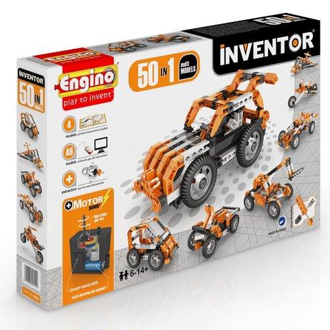 Конструктор Engino Inventor 50 в 1 з електродвигуном