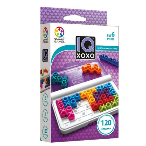 Головоломка Smart Games IQ XOXO
