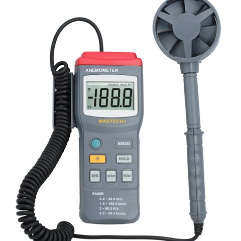 Digital Anemometer MASTECH MS6250